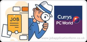 Currys pc world jobs