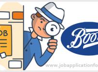 Boots Job Application Form and Printable PDF 2020