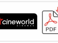 Cineworld Cinemas Job Application Form Printable PDF