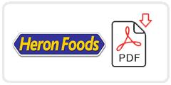 Heron Foods Job Application Form Printable PDF