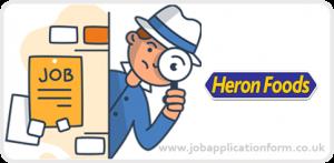 Heron Foods Jobs
