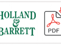 Holland & Barrett Job Application Form Printable PDF