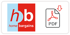 Home Bargains Job Application Form Printable PDF