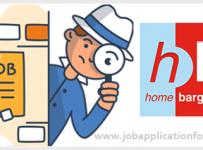 Home Bargains Job Application Form and Printable PDF 2020