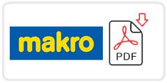 Makro Job Application Form Printable PDF