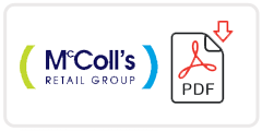 Martin McColl Job Application Form Printable PDF