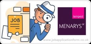 Menarys Jobs