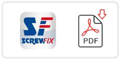 Screwfix Job Application Form Printable PDF