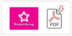 Superdrug Job Application Form Printable PDF