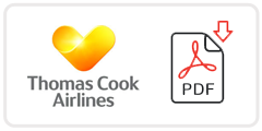 Thomas Cook Airlines Job Application Form Printable PDF