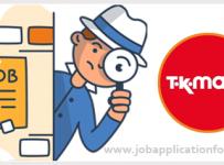 TK Maxx Job Application Form and Printable PDF 2020