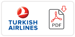 Turkish Airlines Job Application Form Printable PDF