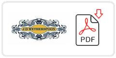 Wetherspoons Job Application Form Printable PDF