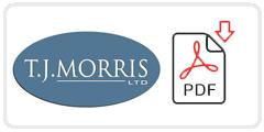 TJ Morris Ltd Job Application Form Printable PDF