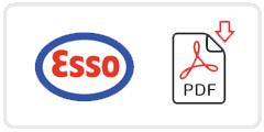 Esso Job Application Form Printable PDF