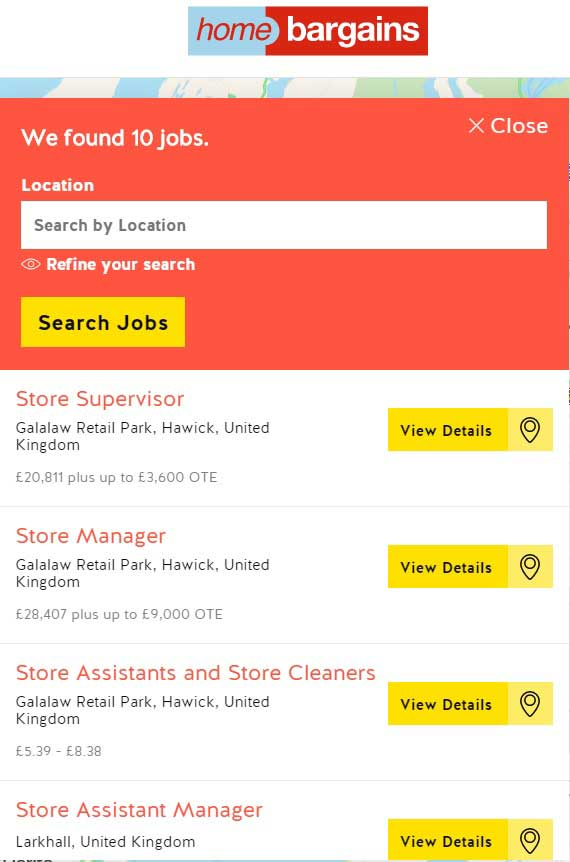 home bargains jobs united kingdom