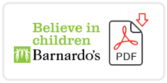 Barnardo's Job Application Form Printable PDF