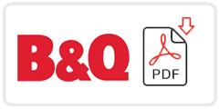 B&Q Job Application Form Printable PDF