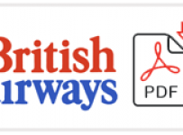 British Airways Job Application Form Printable PDF