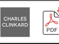 Charles Clinkard Job Application Form Printable PDF