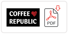 Coffee Republic Job Application Form Printable PDF