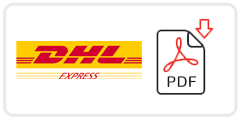 DHL Job Application Form Printable PDF