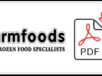 Farmfoods Job Application Form Printable PDF