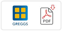 Greggs Job Application Form Printable PDF