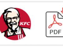 KFC Job Application Form Printable PDF