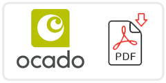 Ocado Job Application Form Printable PDF