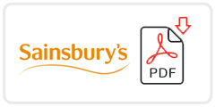 Sainsbury's Job Application Form Printable PDF