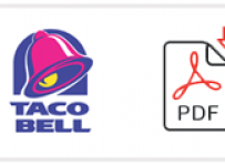 photograph about Printable Taco Bell Applications named Bird Cottage Task Program Kind and Printable PDF 2019