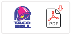 taco-bell-job-application-form Taco Bell Job Application Form Print Out on