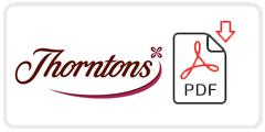 Thorntons Job Application Form Printable PDF