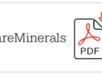 Bare Minerals Job Application Form Printable PDF
