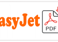 easyJet Job Application Form Printable PDF
