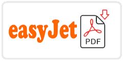 easyJet Job Application Form Printable PDF