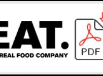 EAT Job Application Form Printable PDF