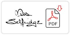 Miss Selfridge Job Application Form Printable PDF