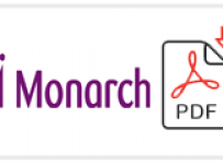 Monarch Airlines Job Application Form Printable PDF