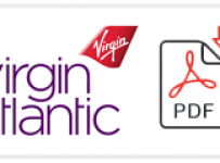 Virgin Atlantic Job Application Form Printable PDF